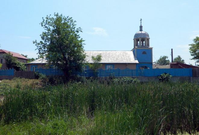 Храм во имя св. Иоанна Златоуста. Село 23 Мила, Румыния
