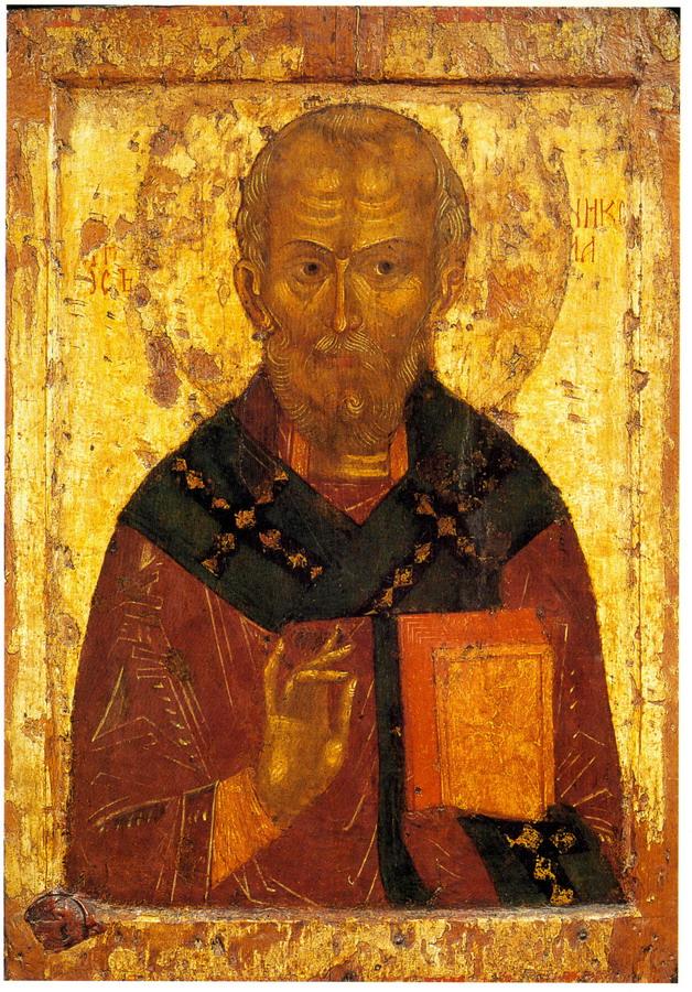 Святитель Никола. 2 пол. 14 века. Ростов (?)