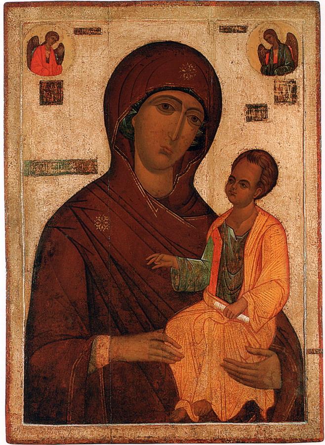 Богоматерь Одигитрия. 1520-е годы. Москва. ЦМиАР