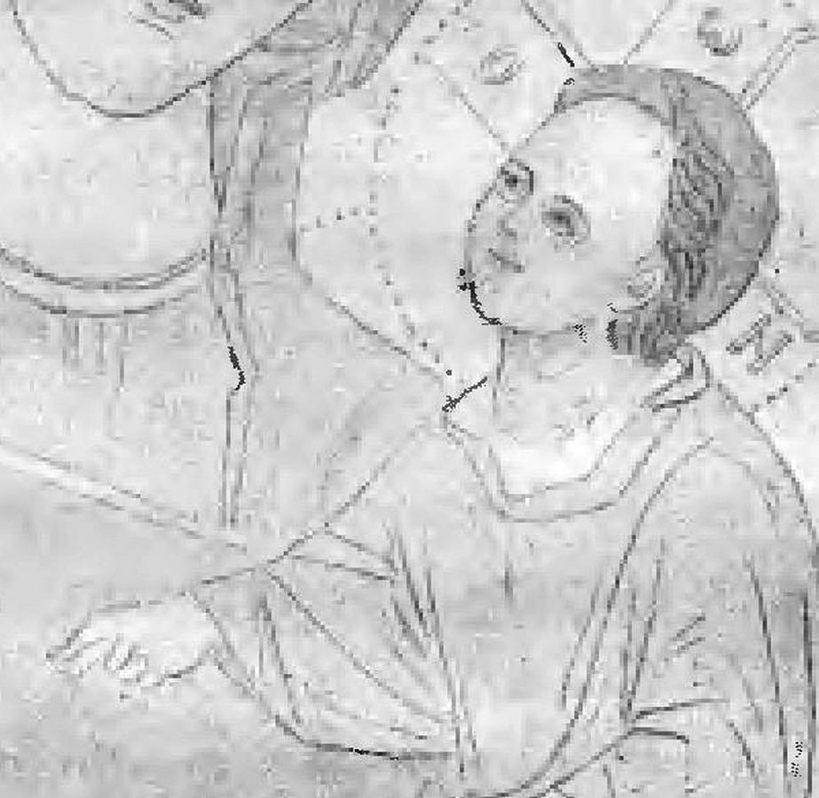 Фрагмент с десницей Младенци Христа. Автор приносит извинения за низкое качество иллюстрации