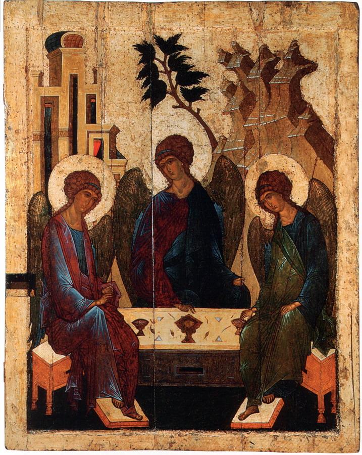 Троица Ветхозаветная. Конец 15 – начало 16 века. Тверь. ЦМиАР