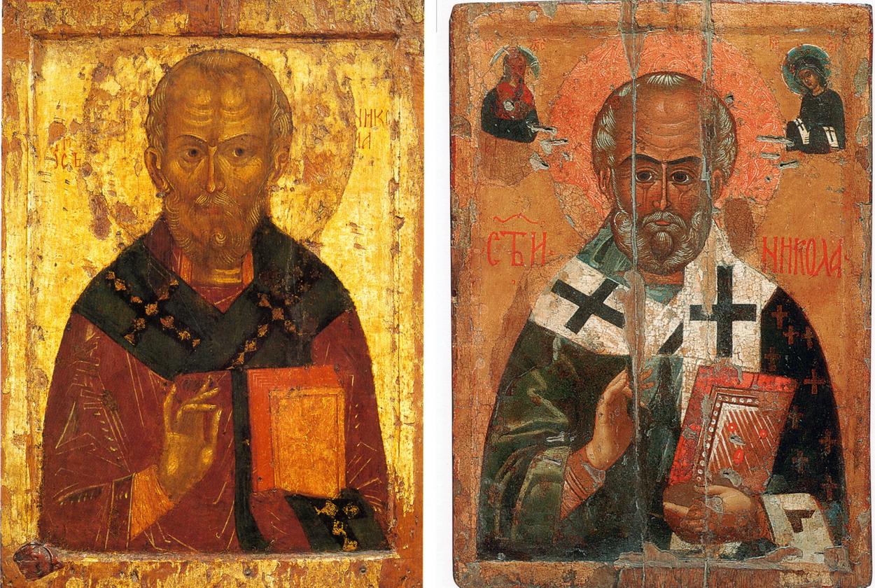 Святитель Никола. Тверь, конец 15 века. ЦМиАР