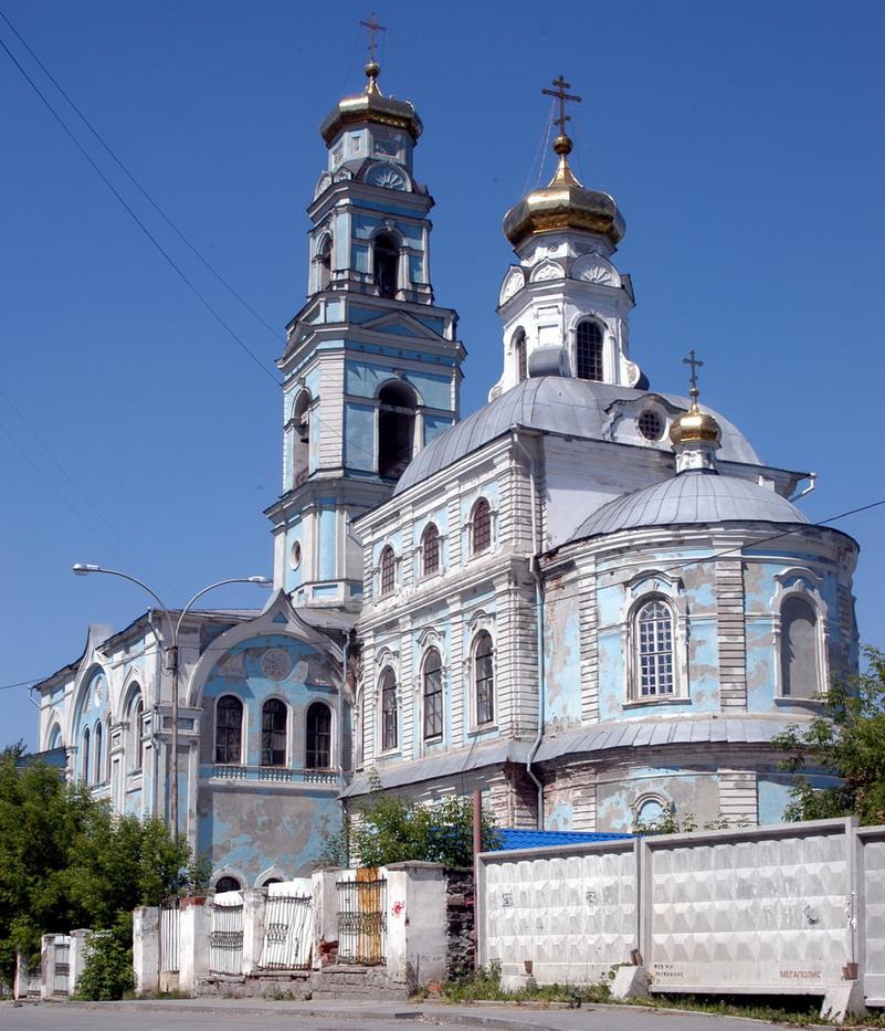 Вознесенская церковь РПЦ, г. Екатеринбург. Фото Максима Гусева