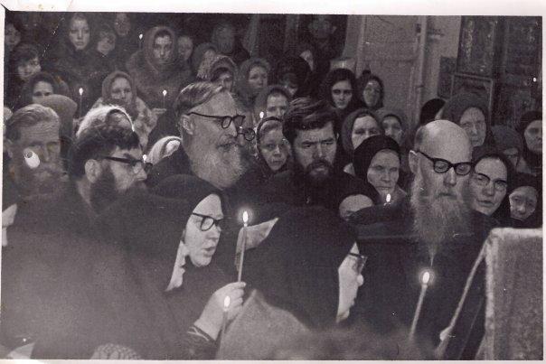 Старообрядческий хор г.Ижевска, из архивных фотографий