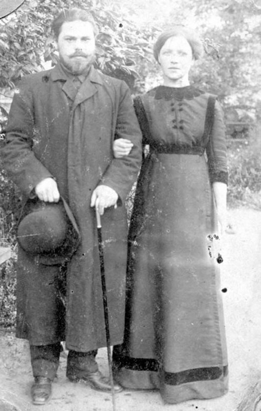 Василий Иванович Иголкин и его жена Татьяна