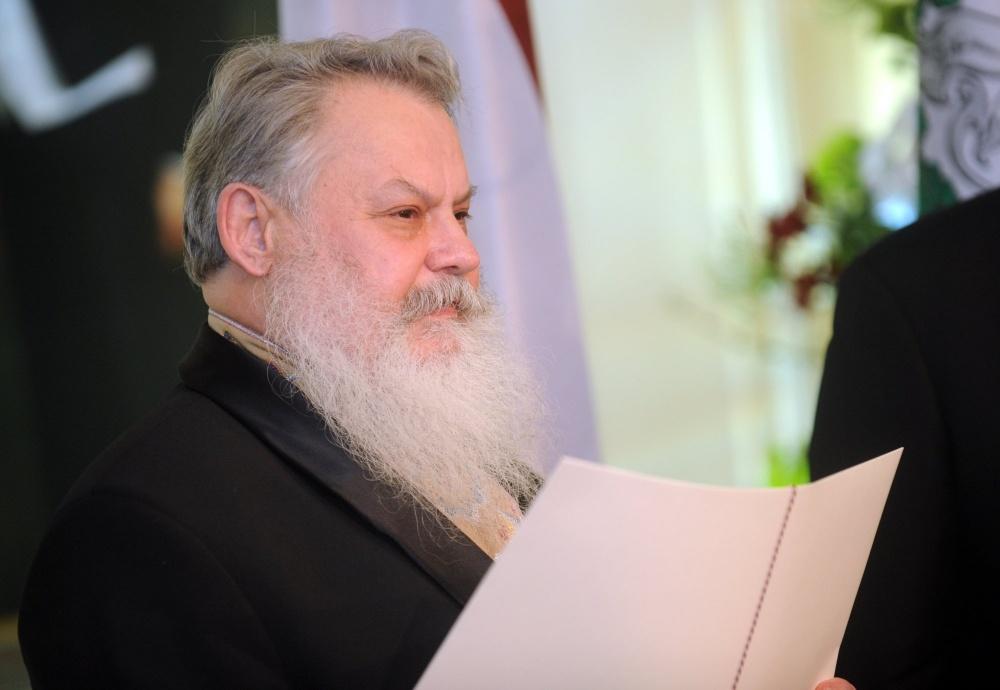 о. Алексий Жилко, председатель Центрального cовета Древлеправославной Поморской церкви Латвии, духовный наставник Даугавпилсской (Новостроенской) староверской общины