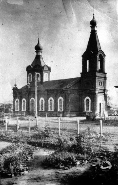 Старообрядческий храм во имя Покрова Пресвятыя Богородицы в г. Ржеве