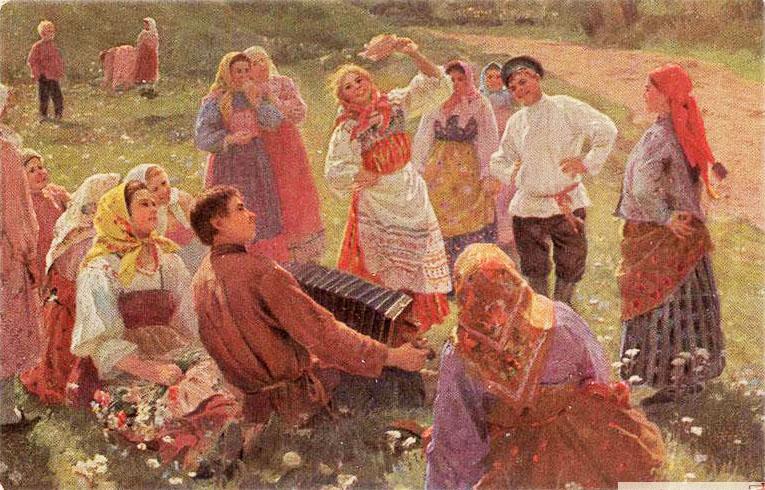 О забавах и увеселениях на Руси