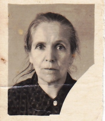 Анна Григорьевна. Поздняя фотография