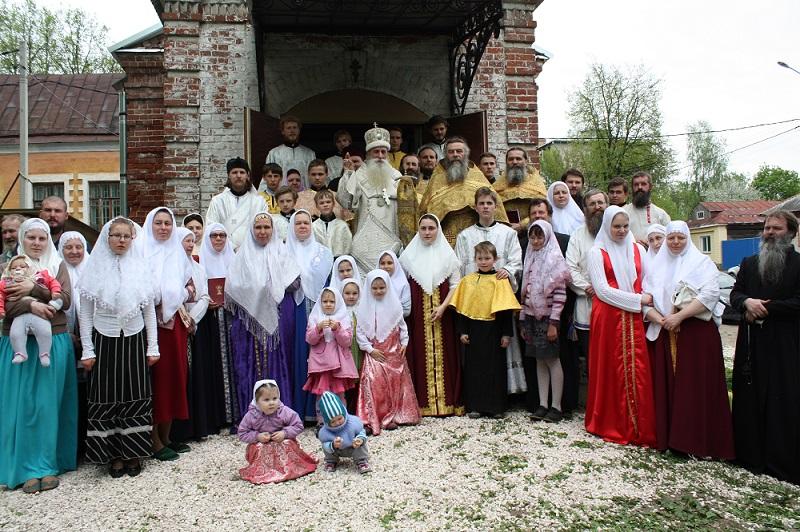 В день освящения храма в г. Коврове