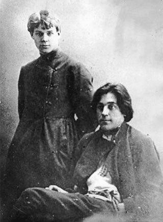 Сергей Есенин и Сергей Клычков, 1918 г.