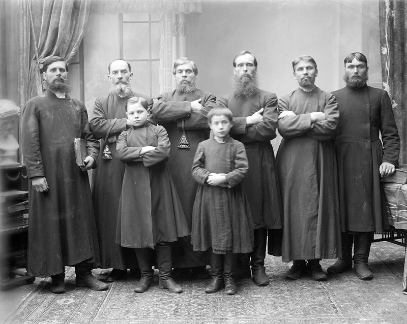 Старообрядцы-поморцы. Конец XIX века