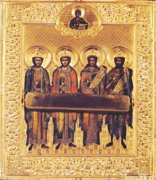 Святые мученики и исповедники Дада, Гаведдай, Гаргал и Каздоя