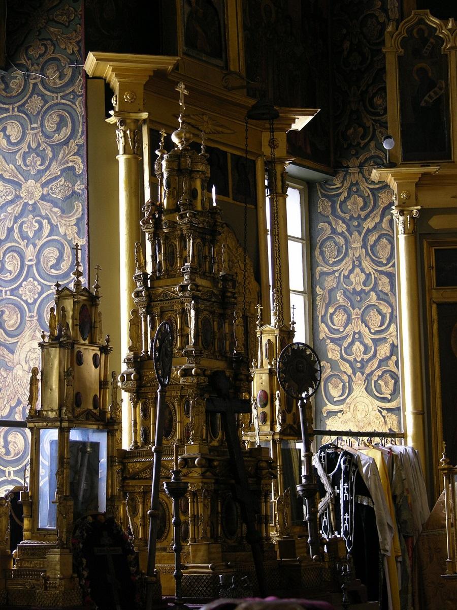 Старообрядческая дарохранительница. Покровский кафедральный собор  РПСЦ