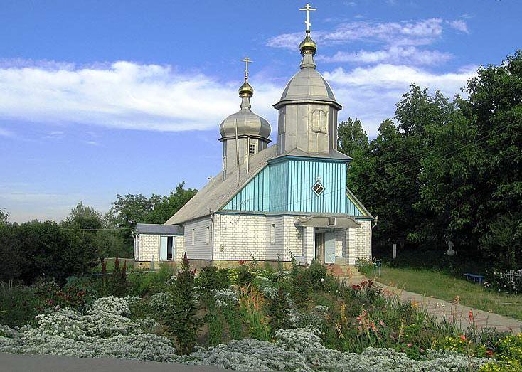 Храм Покрова Пресвятыя Богородицы. Село Покровка