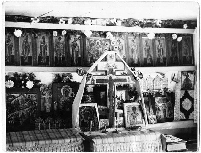 Домашний иконостас старообрядца