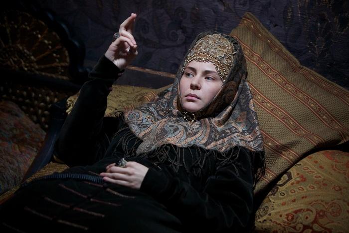 Боярыня Феодосия Морозова (Юлия Мельникова). Кадр из фильма «Раскол»