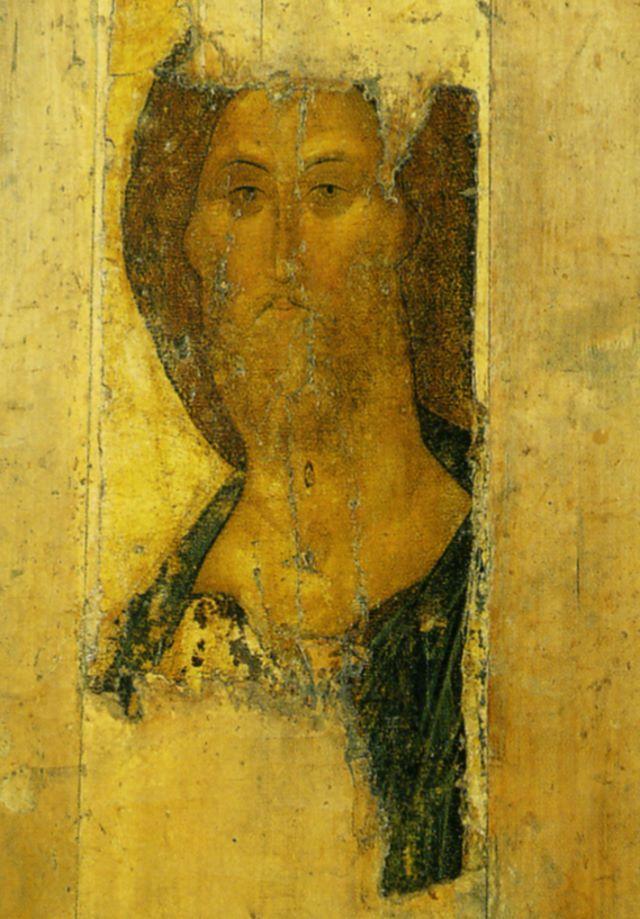 Андрей Рублев. Спас (из Звенигородского чина). Начало XV века