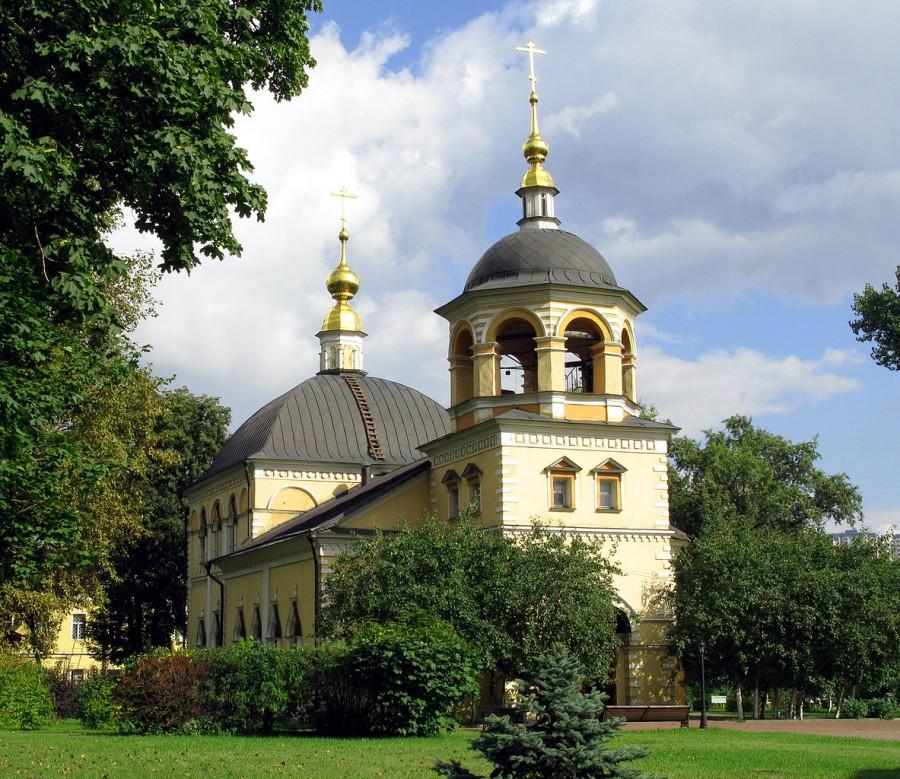 Крестовоздвиженская церковь федосеевского согласия на Преображенском кладбище