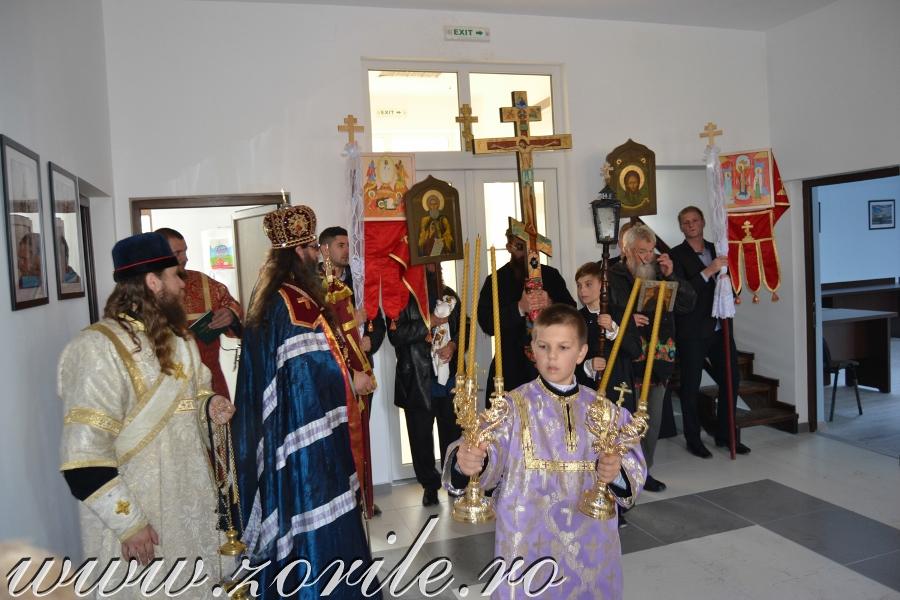 Освящение Дома культуры русских липован села Климэуць, 2014 год
