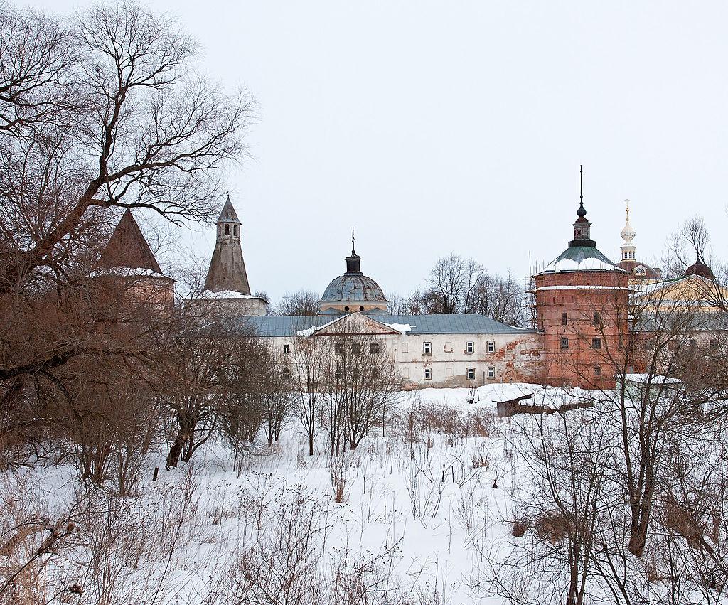 Николо-Пешношский монастырь, расположенный в Дмитровском районе Московской области