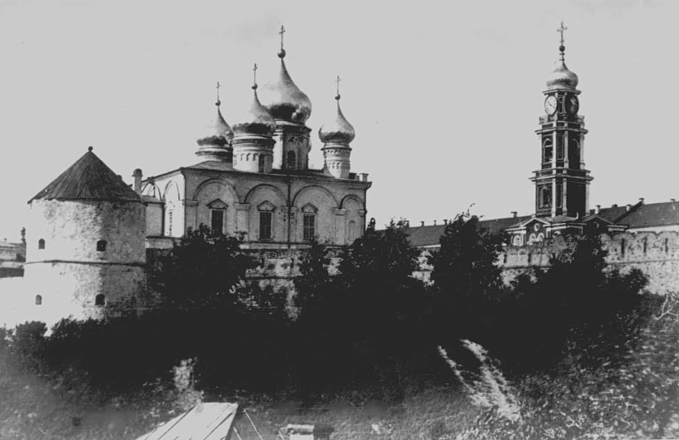 Спасо-Преображенский монастырь. Вид с юго-запада