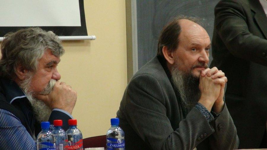 В. Осипов (Боровск) и П. Варунин (Тарту)