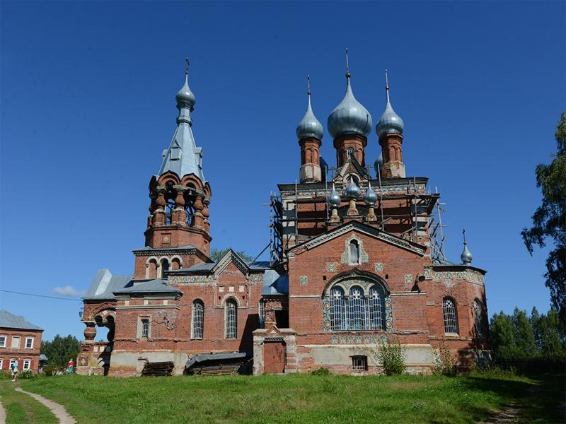 Казанский храм РДЦ в селе Филипповское Нижегородской области
