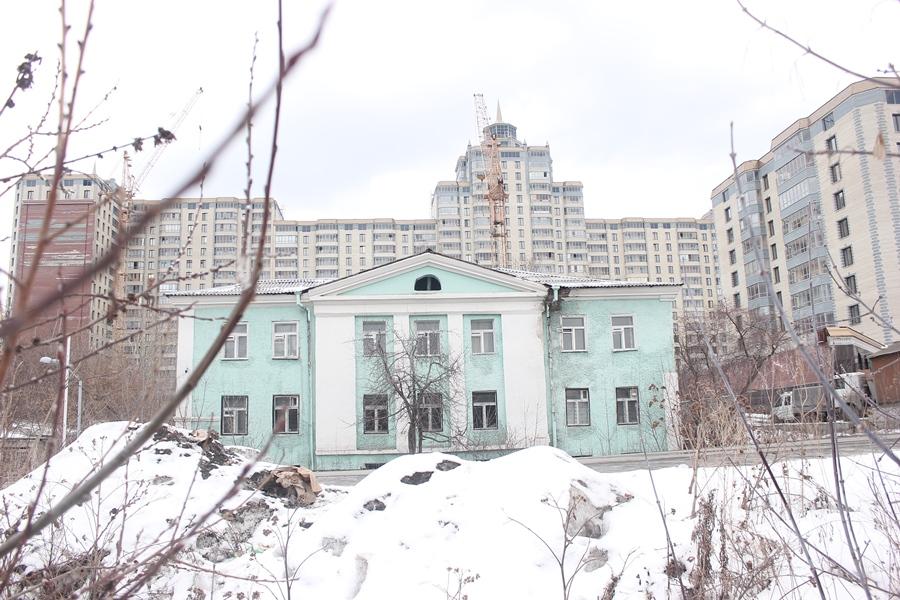 Здание бывшего Свято-Троицкого храма. Фото автора