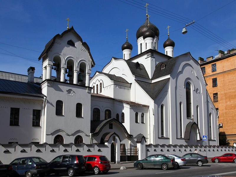 Храм во имя Знамения Пресвятой Богородицы в Санкт-Петербурге (ДПЦ)