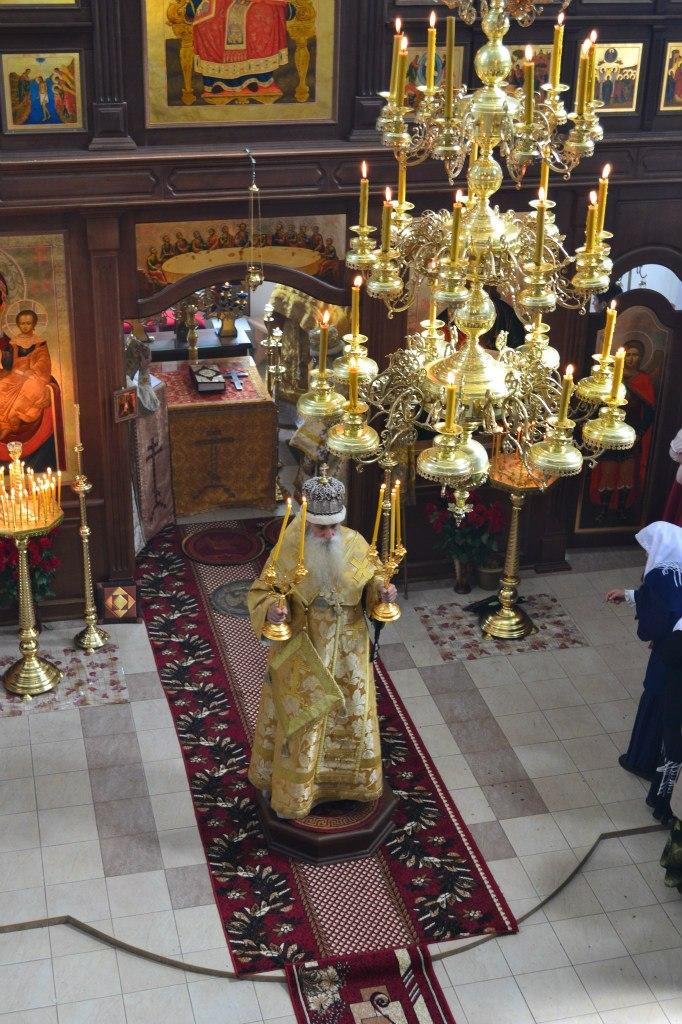 Паникадило в старообрядческом храме