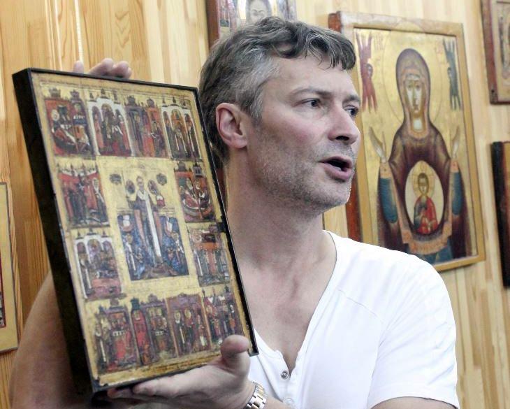 Исследователь и коллекционер старообрядческой иконы Евгений Ройзман