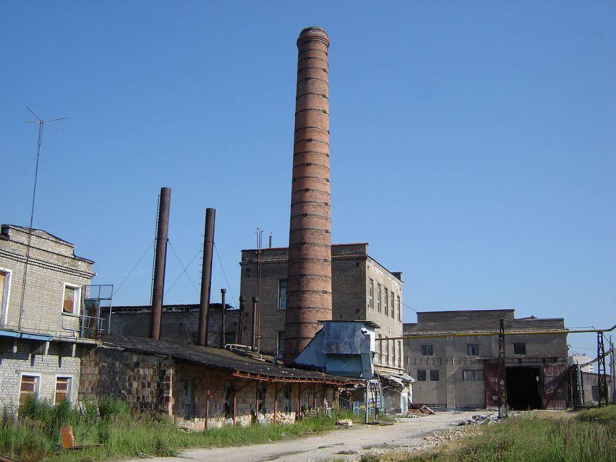Здание Конаковского фаянсового завода в наши дни