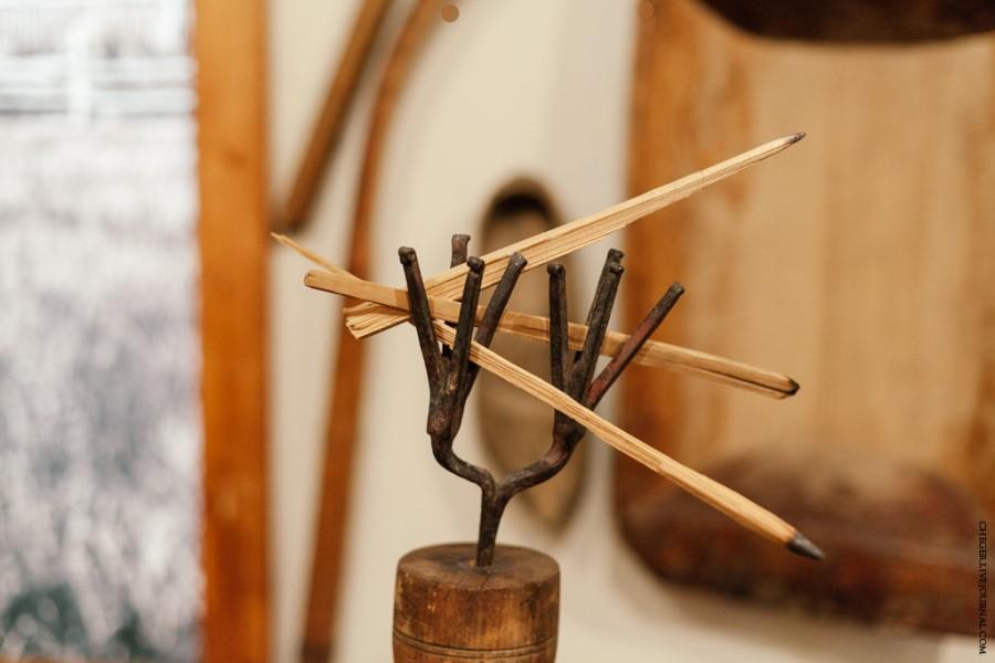 Светец с лучинами. Историко-художественный музей, г. Семенов