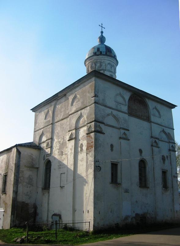 Храм во имя Сретения Господня, Великий Новгород. Построен в XVI веке, перестраивался в XVIII–XIX вв.