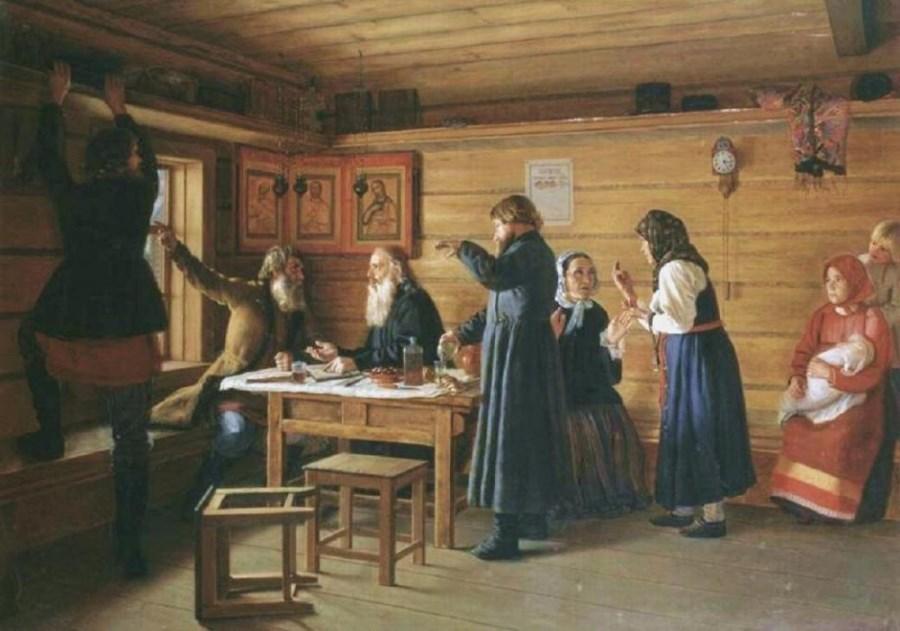 Д. Е. Жуков. «Спор о вере»