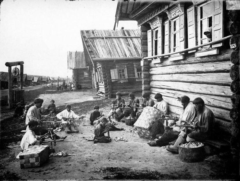 Ложкарное производство. Отделка ложечного черенка, 1897 год