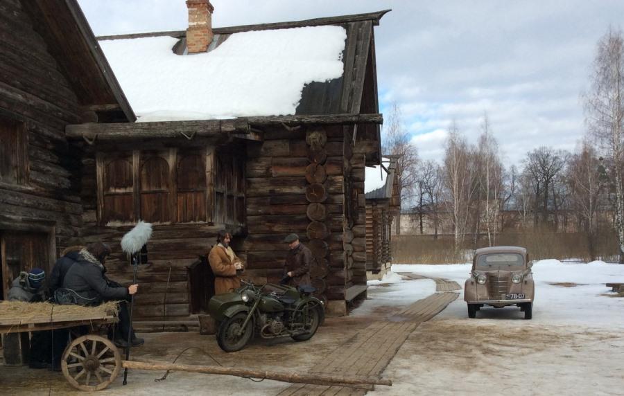 На съемках фильма «Вера». Фото Глеба Чистякова