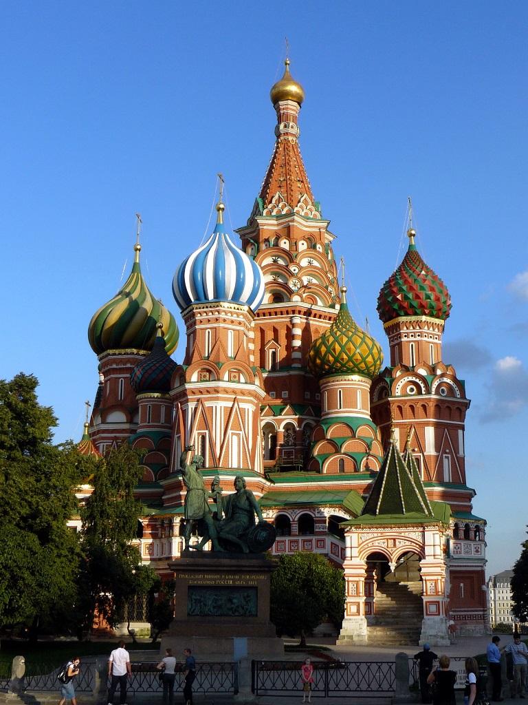 Западный придел собора Василия Блаженного (Покровского собора на Красной площади) освящен во имя входа Господня во Иерусалим