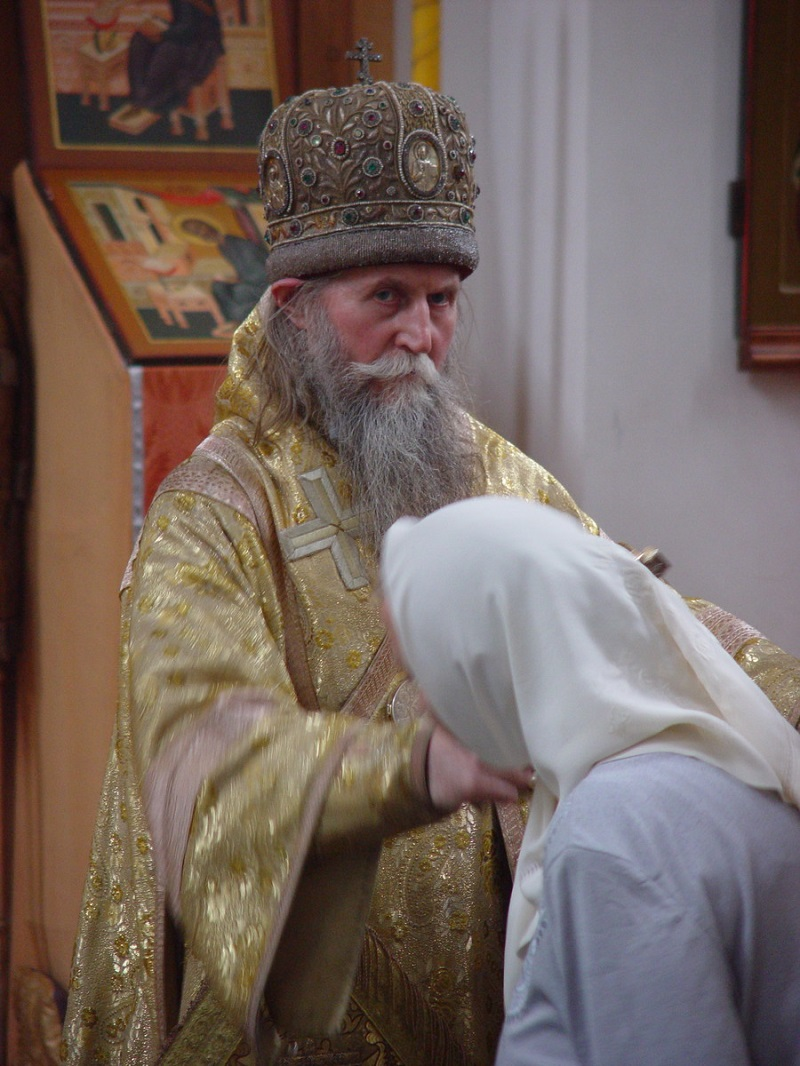 Митрополит Алимпий (Гусев), 1929 — 2003 гг. Фото иерея Алексея Лопатина