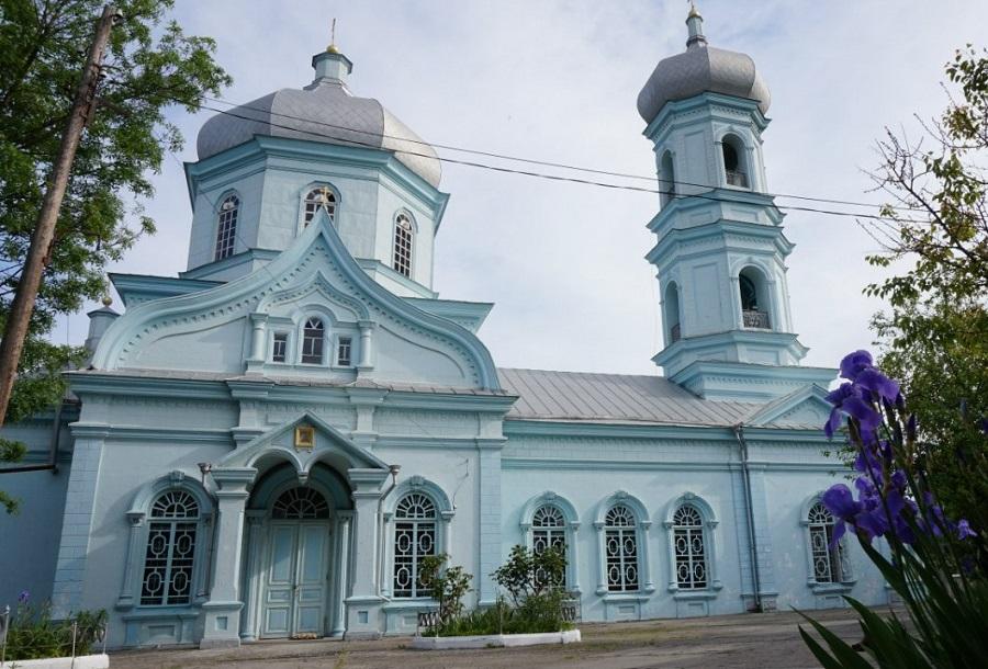 Храм святителя Николы в г. Вилково, в котором прот. Меркурий прослужил много лет