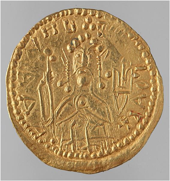 Златник великого князя Владимира. Лицевая сторона