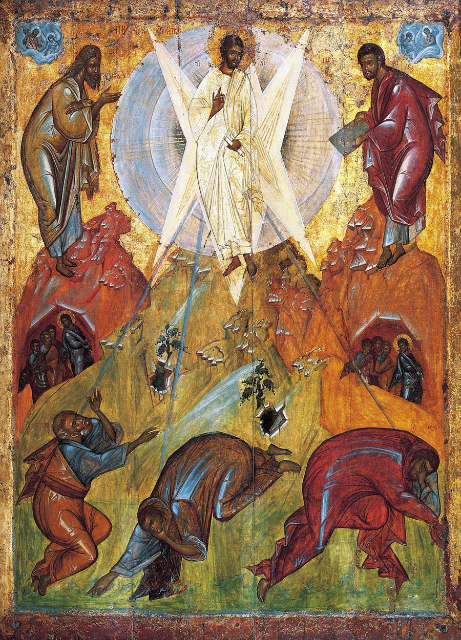 Икона Преображения Господня. Феофан Грек. XV в.