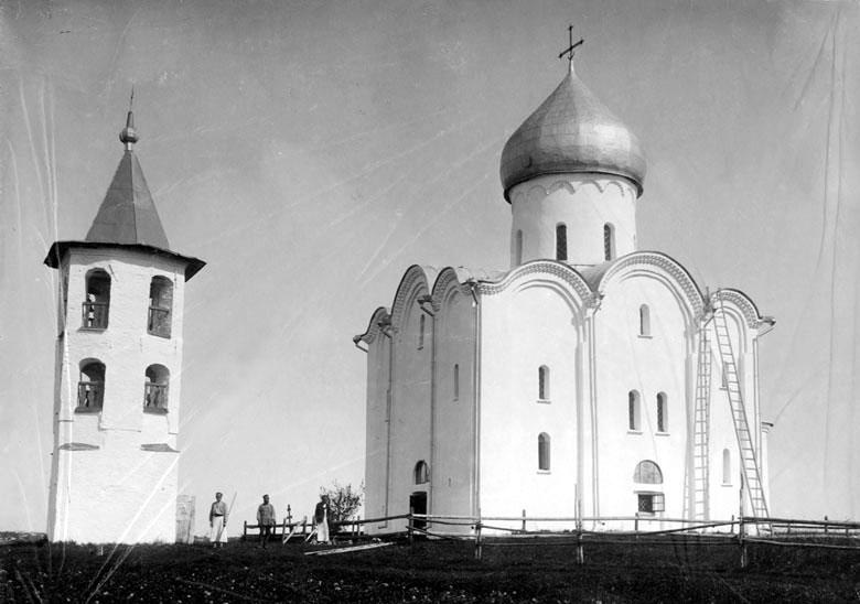 Церковь Спаса на Нередице, Великий Новгород. Снимок 1900 года