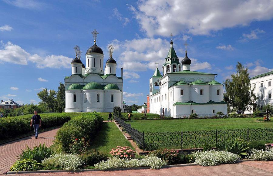 Муромский Спасо-Преображенский мужской монастырь. Основан князем-страстотерпцем Глебом