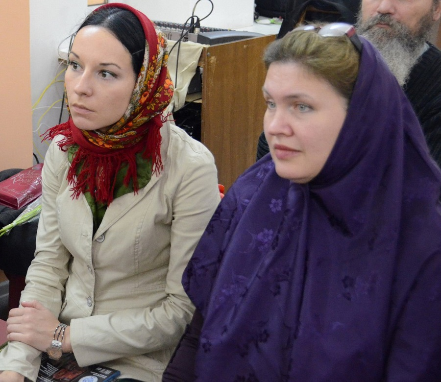 Татьяна Викторовна Игнатова и Дарья Евгеньевна Мальцева (справа)