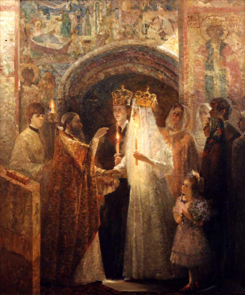 С.С. Кузин. «Венчание. К свету Божьему»