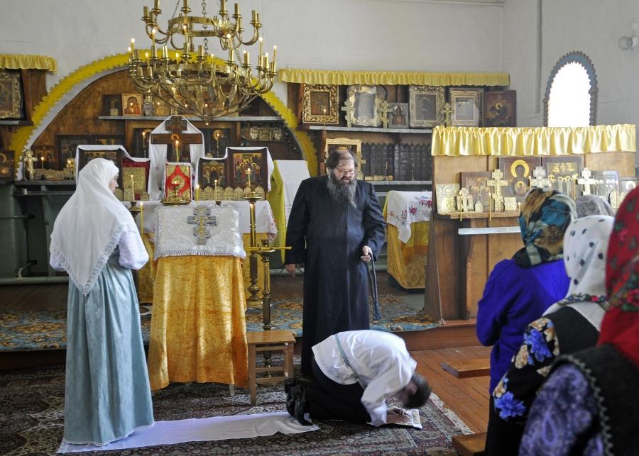 Чин брачного молитвословия у староверов-беспоповцев