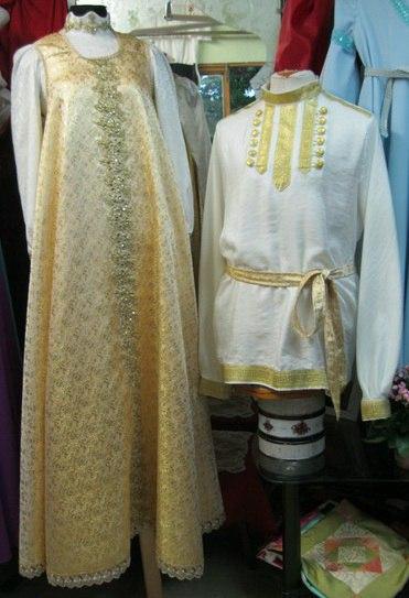 Праздничный сарафан и рубаха