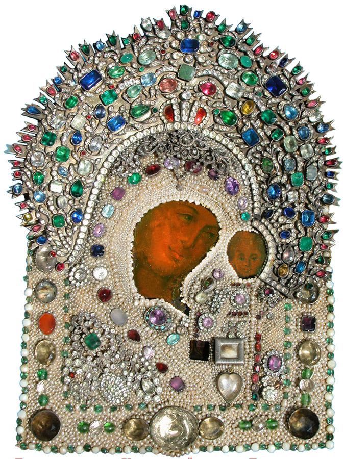 Чудотворный лик Казанской иконы Божией Матери